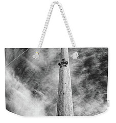 Weekender Tote Bag featuring the photograph Rising To The Heights by Greg Nyquist