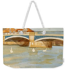 River At Royal Windsor Weekender Tote Bag