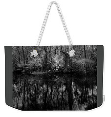 Weekender Tote Bag featuring the photograph River Bank Palmetto by Marvin Spates