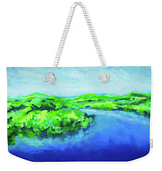 River Bend Weekender Tote Bag