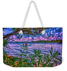 River Color Weekender Tote Bag