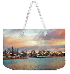 River Dream Weekender Tote Bag by Celso Bressan