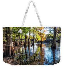 River Eeriness Weekender Tote Bag