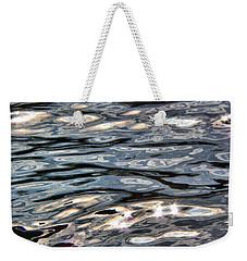 River Flow Reflections Weekender Tote Bag