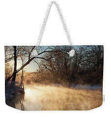 River Fog Weekender Tote Bag