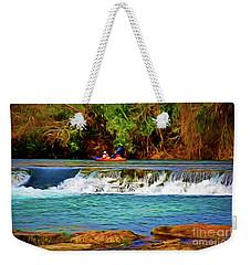 River Good Times 121217-1 Weekender Tote Bag