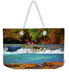 River Good Times 121217-1 Weekender Tote Bag