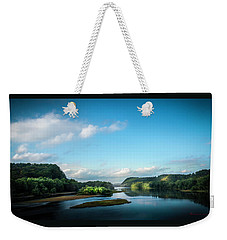 Weekender Tote Bag featuring the photograph River Islands by Marvin Spates