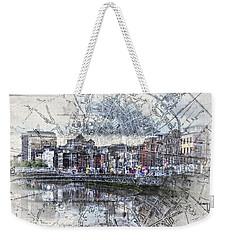 River Liffey Dublin Weekender Tote Bag