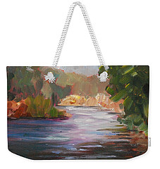 River Light Weekender Tote Bag