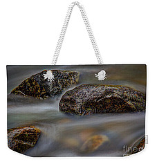 Weekender Tote Bag featuring the photograph River Magic 2 by Douglas Stucky