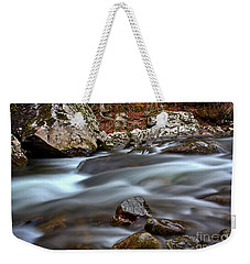 Weekender Tote Bag featuring the photograph River Magic by Douglas Stucky