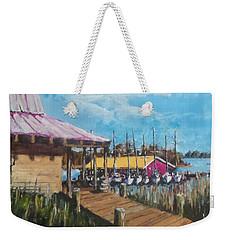 River Marina Weekender Tote Bag by Jim Phillips