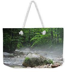 River Mist Weekender Tote Bag