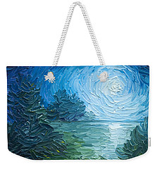 River Moon Weekender Tote Bag