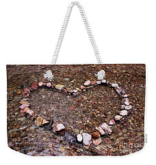 River Of Love Weekender Tote Bag by Natalie Ortiz