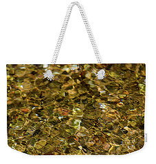 River Pebbles Weekender Tote Bag