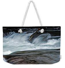River Rapids Weekender Tote Bag