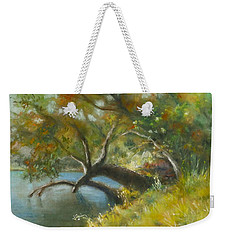 River Reverie Weekender Tote Bag
