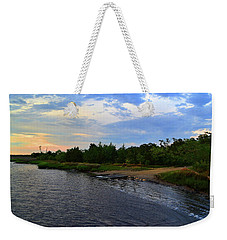 River Road Park At Dusk Weekender Tote Bag
