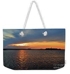River Road Park Sunset Weekender Tote Bag