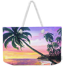 River Road Sunrise Weekender Tote Bag