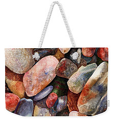 River Rocks Weekender Tote Bag by Anne Gifford