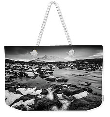 River Sligachan And Black Cuillin, Isle Of Skye Weekender Tote Bag