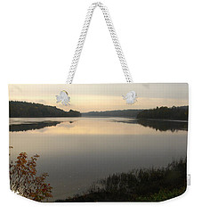 River Solitude Weekender Tote Bag