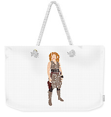 River Song Weekender Tote Bag by Jean Haynes