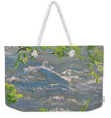 River Spring Weekender Tote Bag