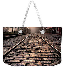 River Street Railway Weekender Tote Bag