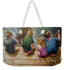 River Tenders Weekender Tote Bag