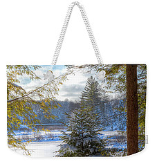 River View Weekender Tote Bag by David Patterson