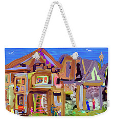 River Village Morning Weekender Tote Bag