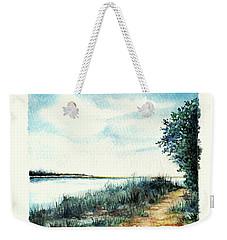 River Walk Weekender Tote Bag by Heidi Kriel