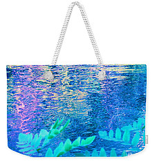 Distractions From The River Waters Weekender Tote Bag