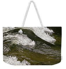 River Waves Weekender Tote Bag