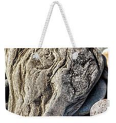 Rivered Stone Weekender Tote Bag