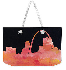 Riverfront Weekender Tote Bag by Joseph A Langley