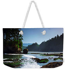 Rivers And Lakes Around Olympic National Park America Weekender Tote Bag