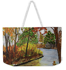 Rivers Bend Weekender Tote Bag