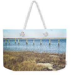 Weekender Tote Bag featuring the photograph River's Edge by Colleen Kammerer