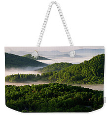 Rivers Of White Weekender Tote Bag