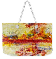 Riverscape In Red....part 2 Weekender Tote Bag
