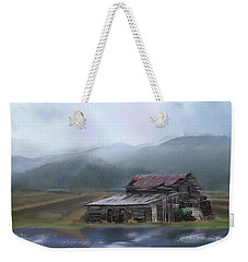 Riverside Barn Weekender Tote Bag by Mary Timman