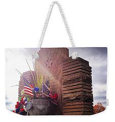 Riverside Cemetery War Memorial Weekender Tote Bag
