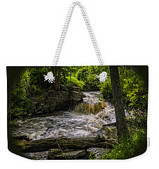 Weekender Tote Bag featuring the photograph Riverside by Mark Myhaver