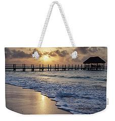 Riviera Sunrise Weekender Tote Bag by Dennis Hedberg