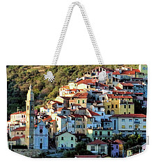 Riviera Village Weekender Tote Bag